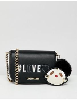 Love Moschino #Love Bag With Keychain by Love Moschino