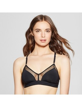 Women's Sporty Mesh Racer Bralette   Xhilaration™ by Shop All Xhilaration™