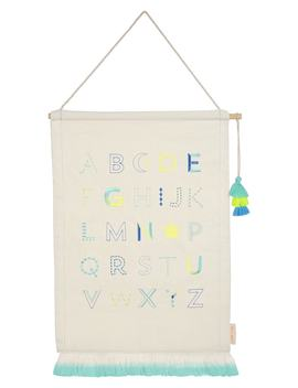 Alphabet Wall Hanging by Meri Meri