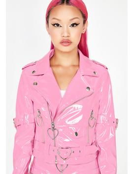 Mad Sass Patent Jacket by Sugar Thrillz