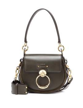 Tess Small Leather Shoulder Bag by Chloé