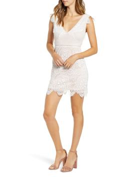 Lace Sheath Dress by