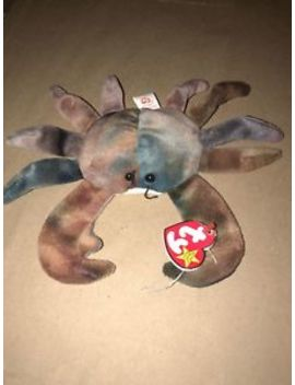 Ty Beanie Baby   Claude The Crab (7.5 Inch)   Mwm Ts Stuffed Animal Toy by Ty