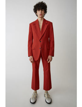 Tailored Blazer Red by Acne Studios