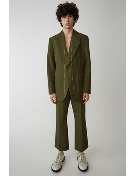 Tailored Blazer Hunter Green by Acne Studios