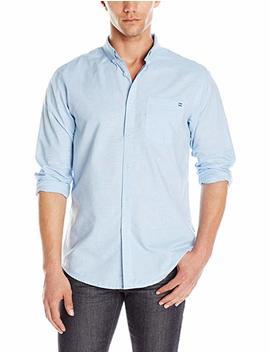 Billabong Men's All Day Chambray Woven Short Sleeve Shirt by Billabong
