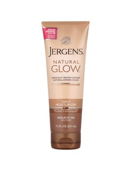 Jergens Natural Glow Daily Moisturizer, Medium To Tan Skin Tones, 7.5 Oz by Jergens