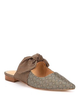 Sabrina Jacquard Fabric Mules by Generic