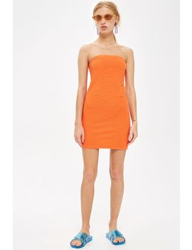 Textured Bandeau Dress by Topshop