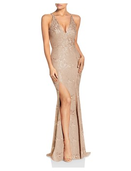 Iris Lace Gown by Dress The Population