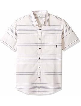 Billabong Men's Flat Lines Short Sleeve Shirt by Billabong