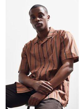 Katin Herb Stripe Short Sleeve Button Down Shirt by Katin