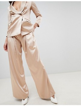 Asos Design Tailored Occasion Wide Leg Pant by Asos Design