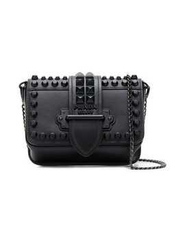 Cahier Studded Belt Bag by Prada