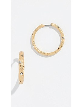 Elegant Edge Huggie Earrings by Kate Spade New York