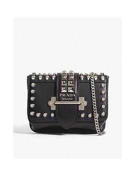 Cahier Leather Belt Bag by Prada