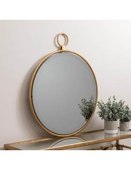 "Lily Gold 25.5"" X 30.5"" Oversized Wall Mirror by Generic"