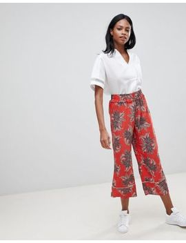 Whistles Palmyra Print Pants by Whistles