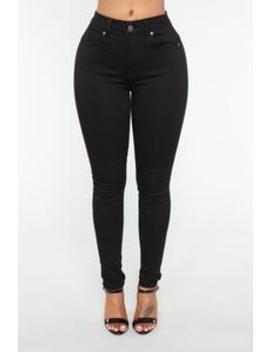 Never Call Me High Rise Jeans   Black by Fashion Nova