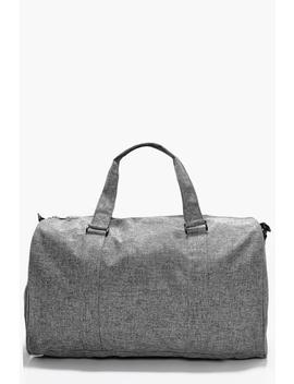 Grey Textured Holdall by Boohoo