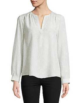 Pearline Silk Blouse by Joie