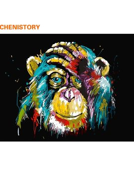 Chenistory Animals Diy Painting By Numebrs Kits Acrylic Paint On Canvas Paint By Numbers Home Wall Art Picture Unique Gift 40x50 by Chenistory