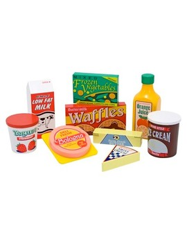 Melissa & Doug® Fridge Food Wooden Play Food Set (9pc) by Shop All Melissa & Doug