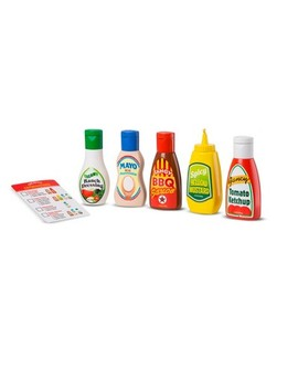Melissa & Doug 6pc Favorite Condiments Play Food Set by Shop All Melissa & Doug