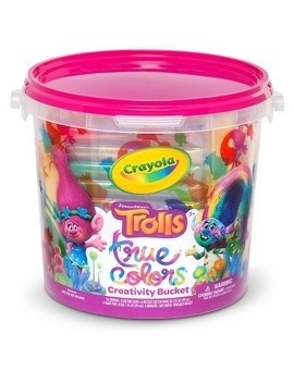 Crayola® Trolls True Colors Creativity Bucket by Shop This Collection