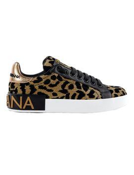 Dolce & Gabbana Leopard Sneakers by Dolce & Gabbana