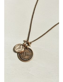Uo Dollar Coin Necklace by Urban Outfitters
