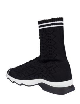 Fendi Runway Sock High Top Sneakers by Fendi