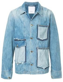 Ports Voversized Denim Jacket Home Men Ports V Clothing Denim Jacketsslim Fit Jeansoversized Denim Jacket by Ports V
