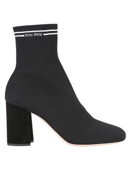 Miu Miu Sock Ankle Boot by Miu Miu