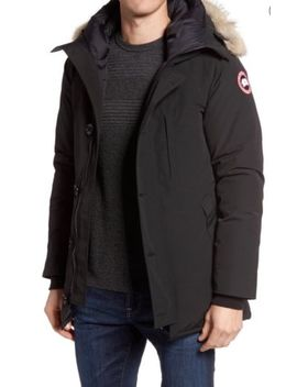 Canada Goose Chateau Parka/Jacket Black Men's Small Fur Trim Lk Nw by Canada Goose