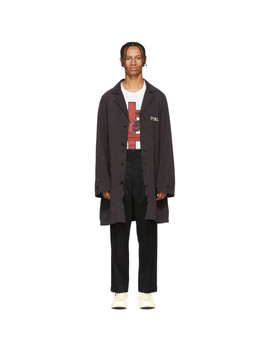 Black 'peerless' Shop Jacket by Visvim