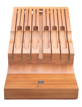 Twin 13 Slot Bamboo In Drawer Knife Storage by Zwilling J.A.Henckels