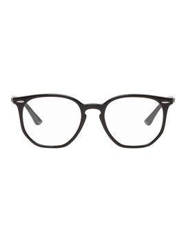 Black Hexagonal Optics Glasses by Ray Ban