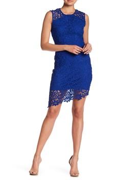 Lace Sleeveless Dress by Bebe
