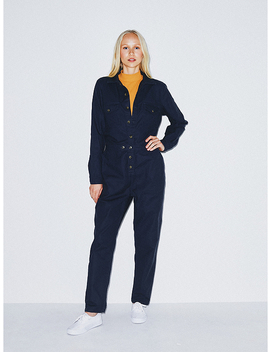 Twill Coverall by American Apparel