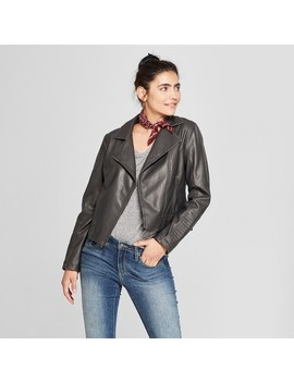 Women's Faux Leather Moto Jacket   Universal Thread™ by Shop All Universal Thread™