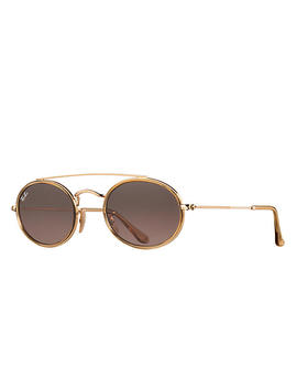 Oval Double Bridge by Ray Ban