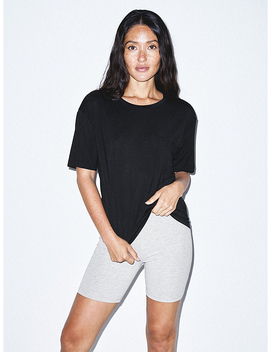 Mix Modal Pocket T Shirt by American Apparel