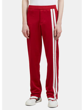 Archive Track Pants In Red by Valentino