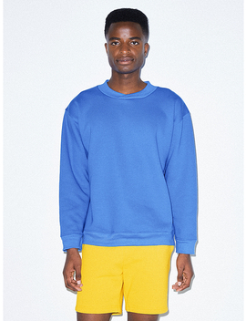 Flex Fleece Crossneck Pullover by American Apparel