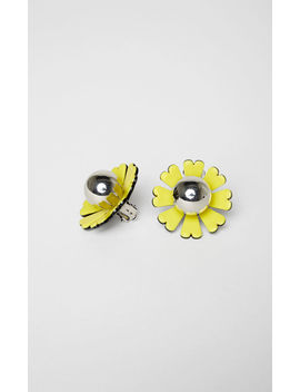 Daisy Earrings by Kenzo