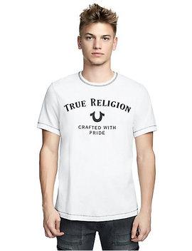 Mens Classic True Religion Logo Tee by True Religion