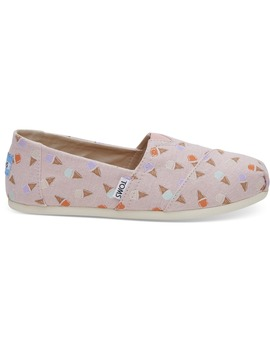 Blossom Ice Cream Women's Classics by Toms