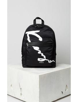 Medium Kenzo Signature Backpack by Kenzo