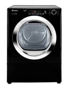 Candy 9kg Condenser Sensor Tumble Dryer Black by Candy